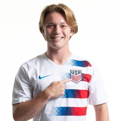 Shea Hammond in a USA Soccer Jersey