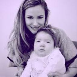 Kelly Cervantes with Baby Adelaide