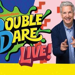 Double Dare Live Promotional Advertisement, featuring Marc Summers.